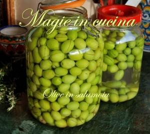 Ricetta per olive in salamoia