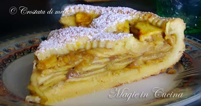 Crostata di mele magie in cucina for Crostata di mele