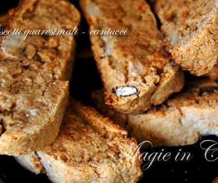Biscotti quaresimali – Cantucci