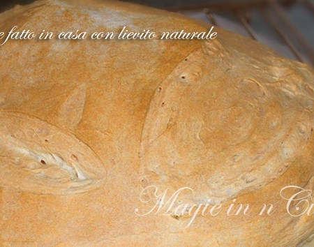 Ricetta pane fatto in casa con lievito naturale