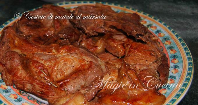 la ricetta delle costate di maiale al marsala | - Come Cucinare Le Puntine Di Maiale