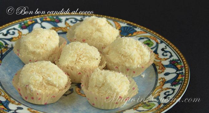 Bonbon candidi al cocco