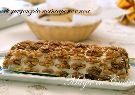Ricetta mousse gorgonzola mascarpone e noci
