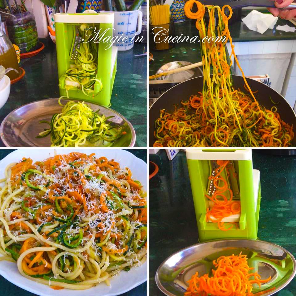 Ricette pasta con zucchine e carote