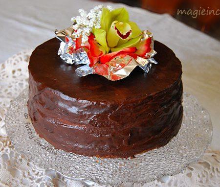 Chiffon Cake Sacher