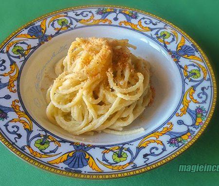 Pasta con crema di cavolfiori