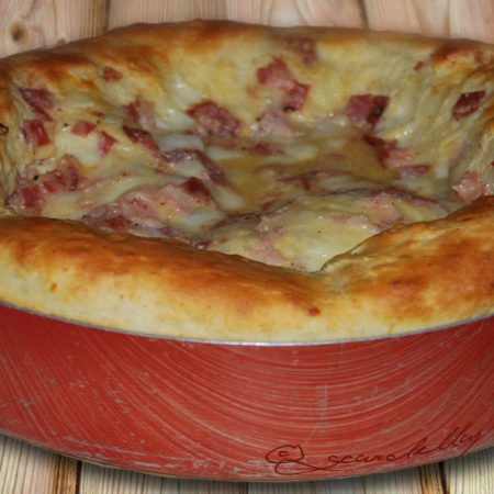 Pizza rustica estiva
